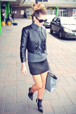 Cheryl Cole arriving at the Principe di Savoia Hotel