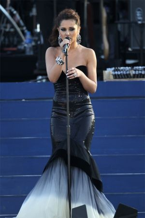 Cheryl Cole at Diamond Jubilee appearance