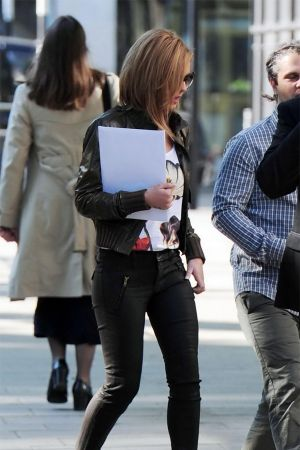 Cheryl Cole at the American Embassy in London