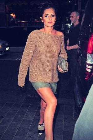 Cheryl Cole leaves Scott's restaurant