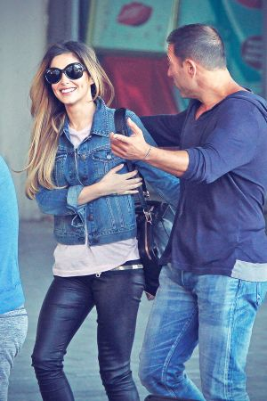 Cheryl Cole out in Cape Town