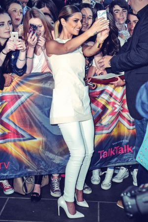 Cheryl Cole sighting at the X-Factor auditions