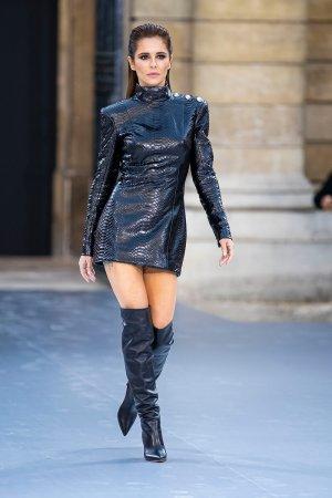 Cheryl Tweedy attends Le Defile L'Oreal Paris Show