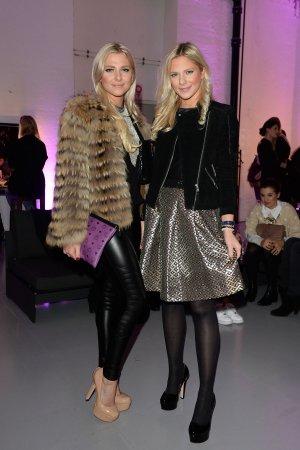 Cheyenne & Valentina Pahde attend FromBeastToBeauty beauty tutorial event