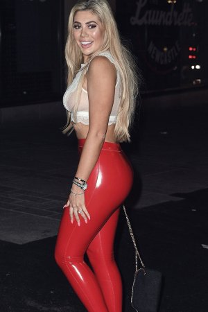 Chloe Ferry hits the city of Newcastle On Boxing Day