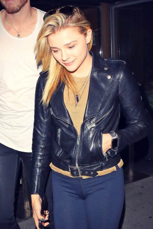 Chloe Grace Moretz out and about candids in LA