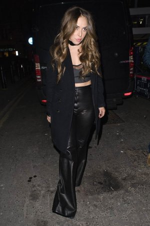 Chloe Green leaving Tramp nightclub