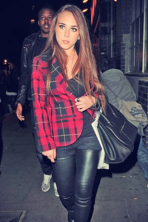 Chloe Green on the street in London