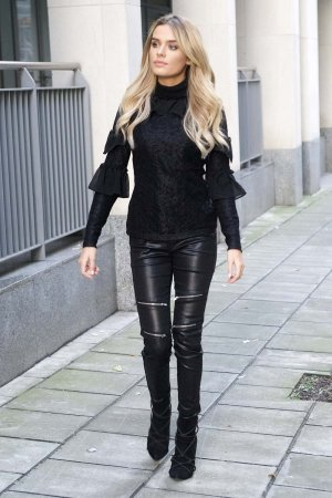 Chloe Lloyd out and about in London