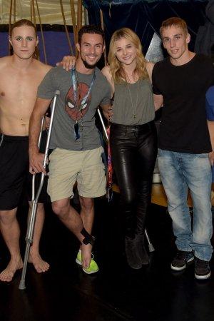 Chloe Moretz attends Cirque Du Soleil Amaluna Premiere Night