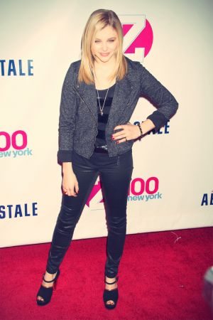 Chloe Moretz attends Z100's Jingle Ball 2012