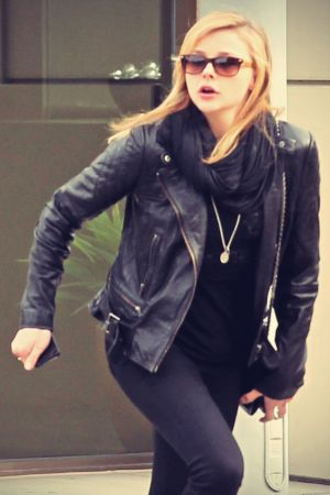 Chloe Moretz out and about candids in LA