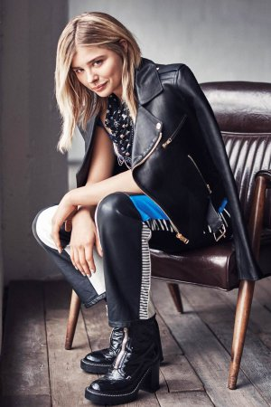 Chloe Moretz photoshoot for Glamour US