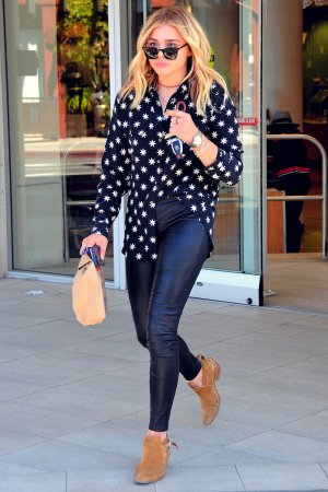 Chloe Moretz shopping at Rite Aid in Beverly Hills