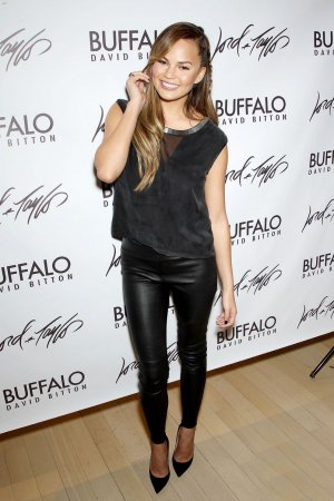 Chrissy Teigen attends Lord & Taylor Flagship Guys Night Out