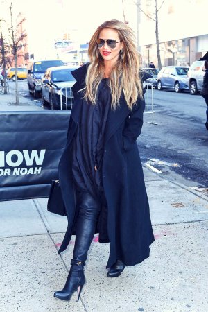 Chrissy Teigen in New York City
