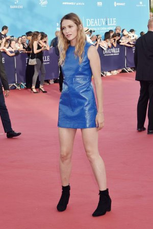 Christa Theret attends the Tribute to Stanley Tucci