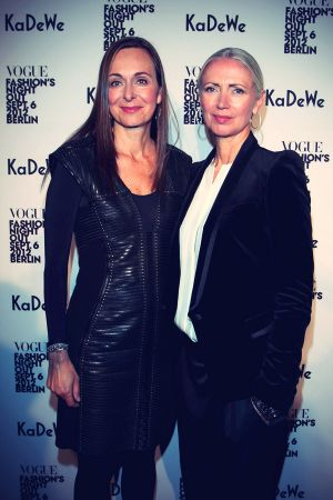 Christiane Arp & Ursula Vierkoetter at Vogue Fashions Night Out