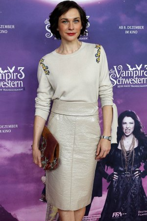 Christiane Paul during the premiere of Die Vampirschwestern 3