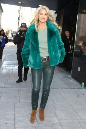 Christie Brinkley attends Good Day NY