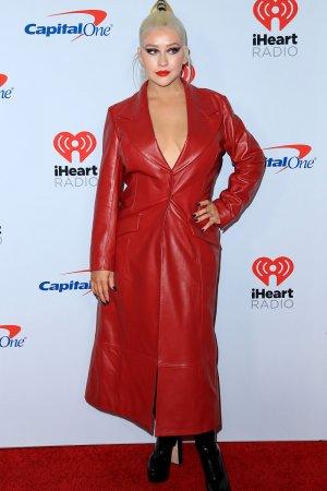 Christina Aguilera attends iHeartRadio Music Festival Las Vegas