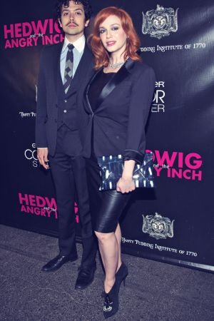 Christina Hendricks attends Hedwig And The Angry Inch