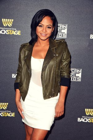 Christina Milian attends American Music Awards Radio Row