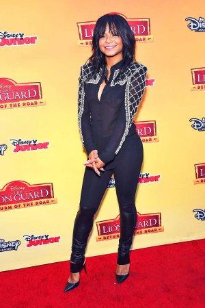 Christina Milian attends Disney's The Lion Guard Return of the Roar Premiere