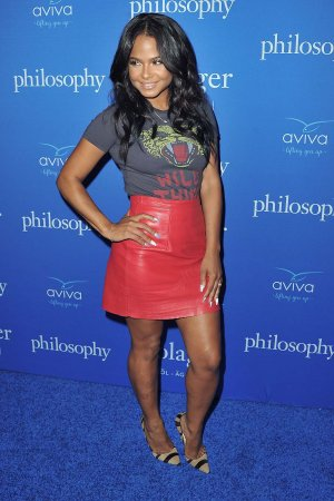 Christina Milian attends Philosophy And Ellen Pompeo Welcome You To The Age Of Cool