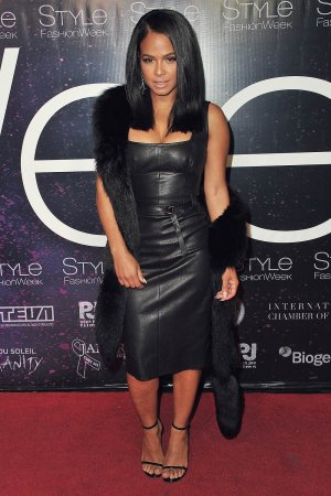 Christina Milian attends the debut of Thomas Wylde's 'Warrior II' collection