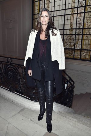 Christina Pitanguy attends the Jean Paul Gaultier Haute Couture Spring Summer 2017 show