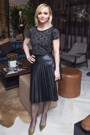 Christina Ricci attends Saks Fifth Avenue and Marc Metrick dinner