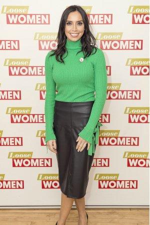 Christine Bleakley attends Loose Women TV Show