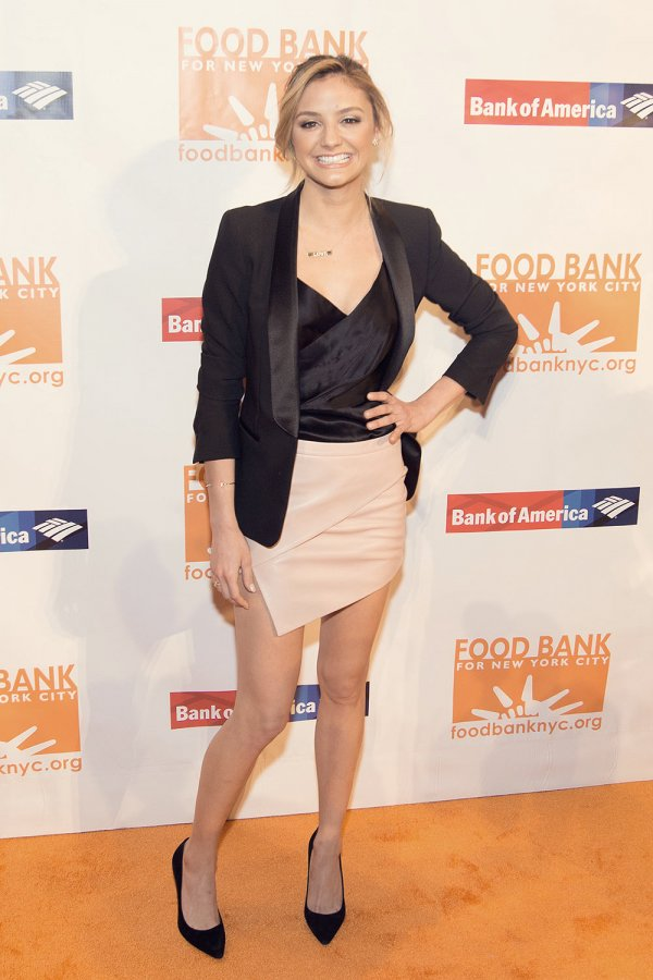 Christine Evangelista attends Food Bank for NYC's Can Do Awards