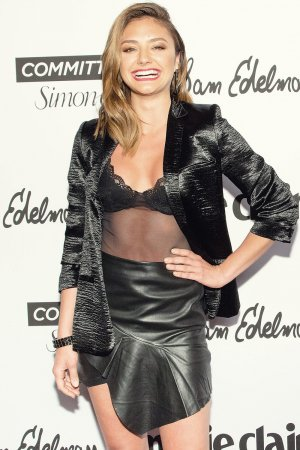 Christine Evangelista attends Marie Claire Fresh Faces party