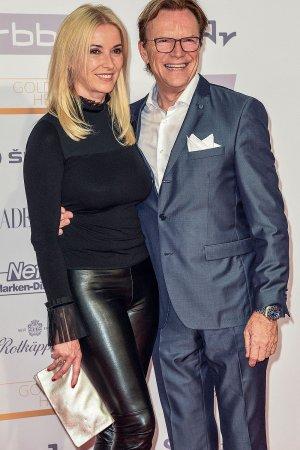 Christine Lippert seen at Goldene Henne 2017