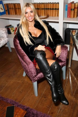 Christine McGuinness at Celebrity Pamper Gifting Day