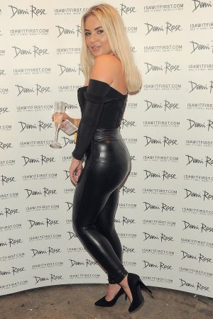 Chyna Ellis attends Demi Rose App launch party