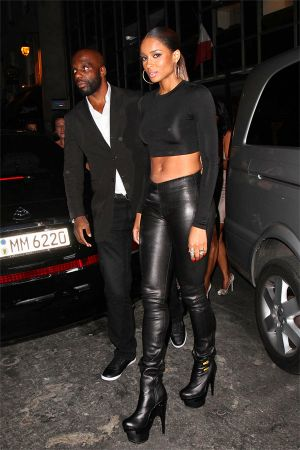 Ciara at Kanye West Ready to Wear SS 2012 show After Party