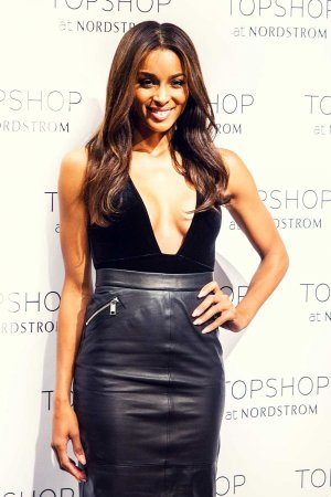 Ciara at Topshop at Nordstrom in Seattle