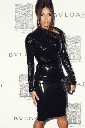 Ciara attends Bvlgari Flagship Store Reopening