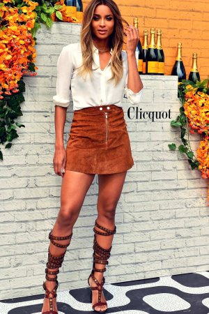 Ciara attends Second-Annual Clicquot Carnaval