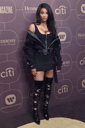 Ciara attends Warner Music PreGrammy Party