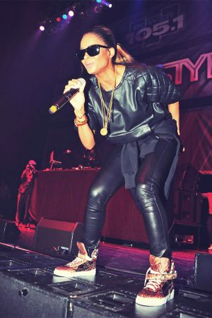 Ciara performs during DJ ProStyle's birthday bash