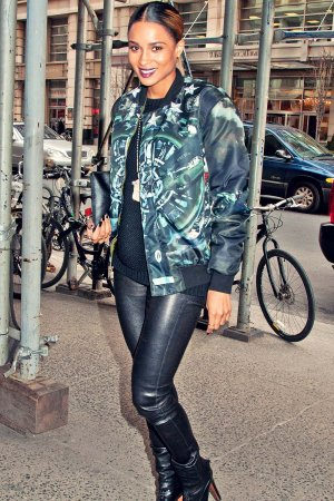 Ciara sighted at Chelsea in New York City
