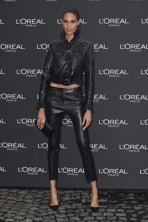 Cindy Bruna attends Le Defile L'Oreal Paris show