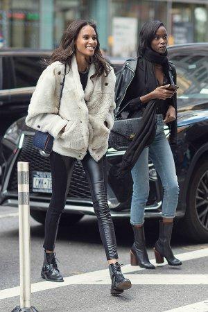 Cindy Bruna attends the 2016 Victoria's Secret Fashion Show