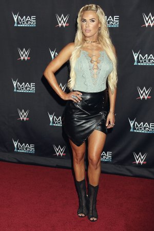 CJ Perry attends WWE Presents 'Mae Young Classic Finale'