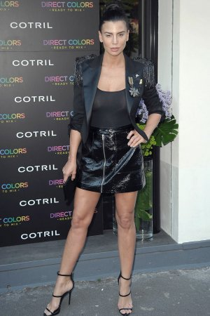 Claudia Galanti attends the Cotril Salons anniversary event