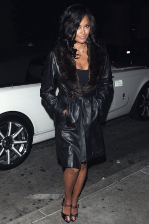 Claudia Jordan at Catch LA Restaurant